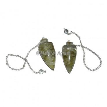 Garnet Plane Orgone Pendulum