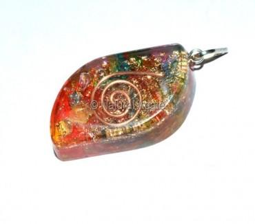 Orgone Chakra Eye Pendants