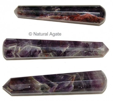 Amethyst Massage Wands