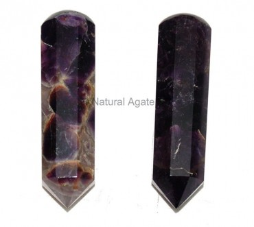 Amethyst 6 Faceted Massage wands