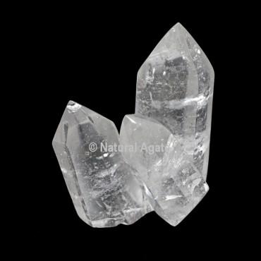Crystal Quartz Points