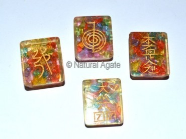 Orgone Square Reiki Set