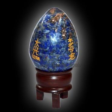 Orgone Lapis Lazuli Usui Reiki Egg