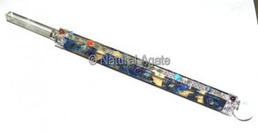 Orgone Lapis Wands Large