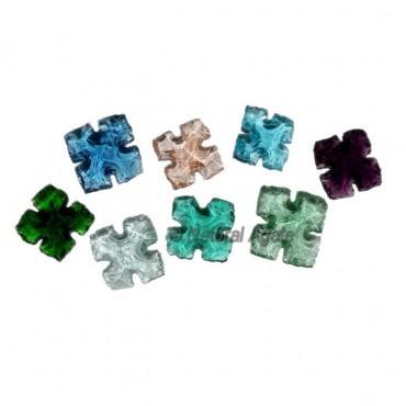 Four Point Cut Glass Arrowheads