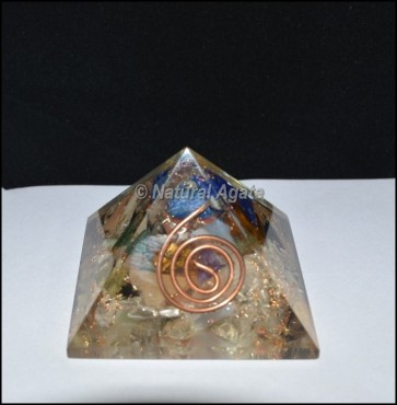 Gemstone Energy Orgone Pyramid