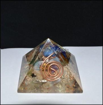 Gemstone Energy Orgone Pyramid
