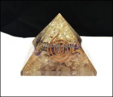 Quartz Energy Orgone Pyramids