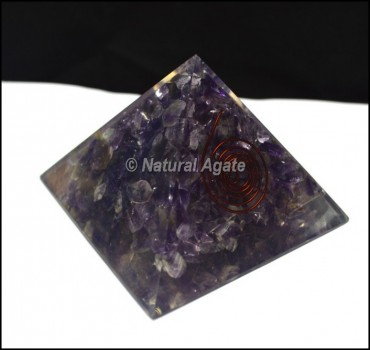 Amethyst Energy Orgone Pyramid