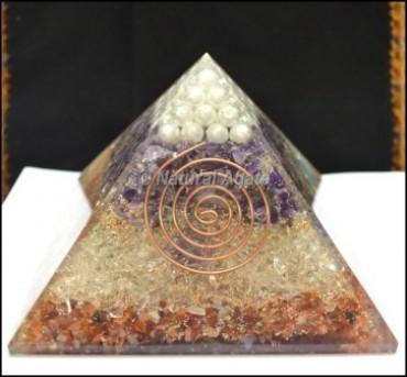 Chakra Pyramid Orgone