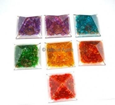 Orgone Multi Crystal Pyramids