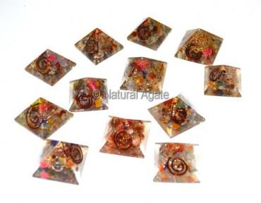 Orgone Chakra Small Pyramids