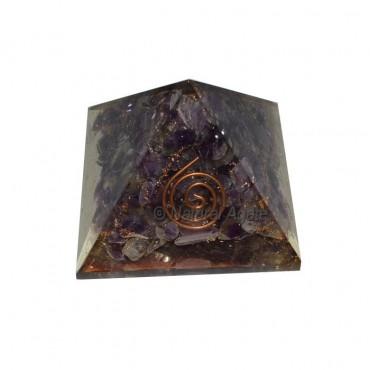 Amethyst Orgone Pyramids