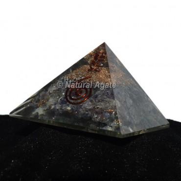 Blue Aventurine Orgonite Pyramid