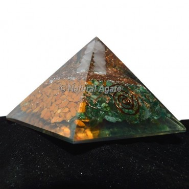 Yoga Orgonite Pyramid