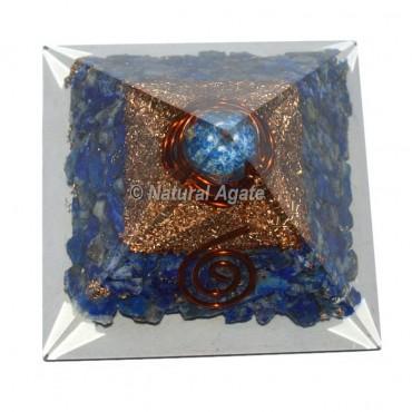 Lapis Lazuli Orgone Pyramid