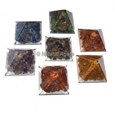7 Chakra Mini Pyramid Set