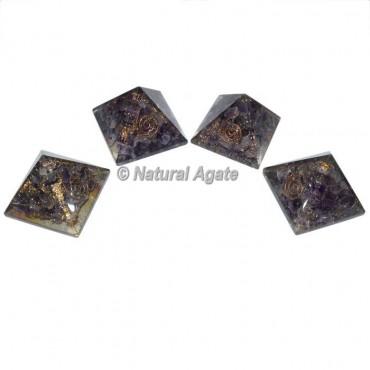 Small Amethyst Orgone Pyramid