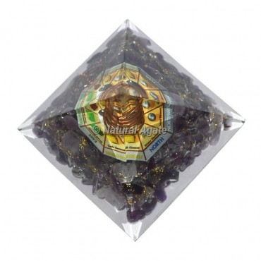 Amethyst Direction Pyramid