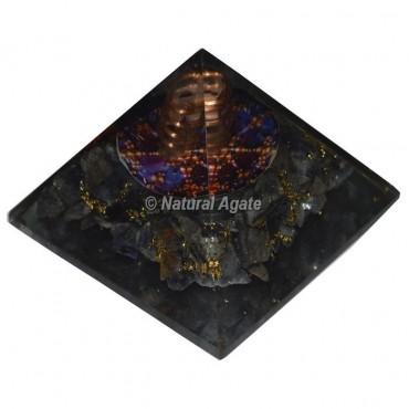Blue Aventurine Orgone Pyramid