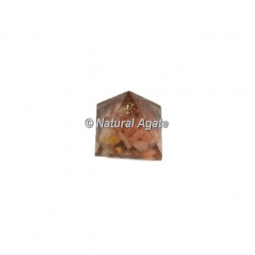 Peach Aventurine Small Pyramid