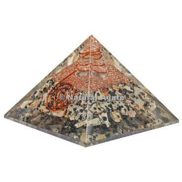 Dalmation Orgone Pyramid