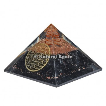 Tourmaline Orgone Pyramid