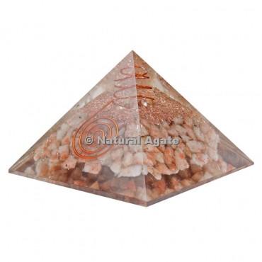 Sunstone Orgone Pyramid