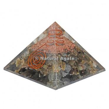 Labradorite Orgone Pyramid