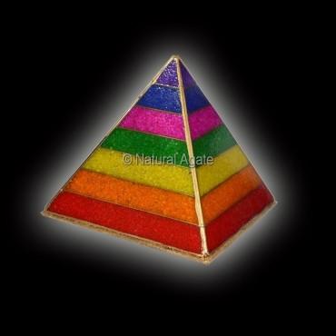 Orgone Chakra Chips Energy Lamp Pyramids