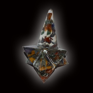 Orgone Seven Chakra Magic Stick Star