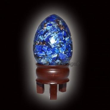Orgone Lapis Lazuli Eggs