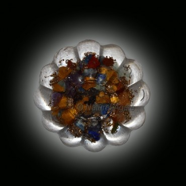 12 Points Seven chakra Paper Weight