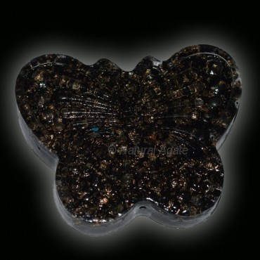 Orgone Black Tourmaine Butterfly Shape Paper Weigh