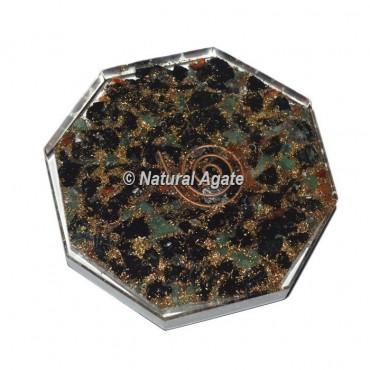 Mix Stone Orgone Vastu Coaster