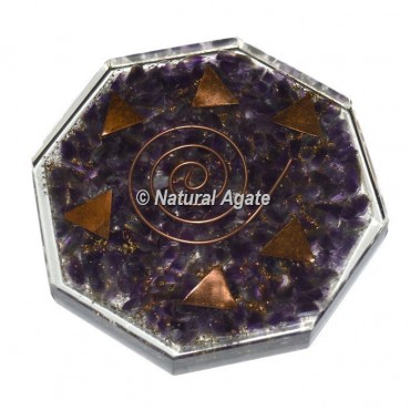 Amethyst Orgone Vastu Coaster