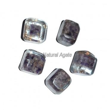 Amethyst Orgonite Energy Tumbled Stones