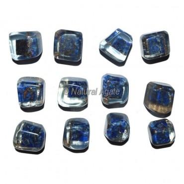 Lapis Lazuli Orgonite Energy Tumbled Stones