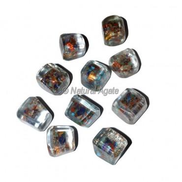7 Chakra Stones Orgonite Energy Tumbled Stones