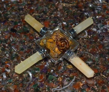 Golden Quartz Orgone Energy Generator