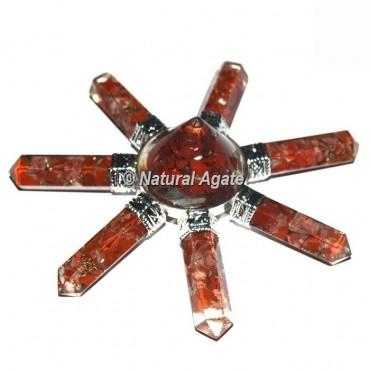 Red Jasper  7 Pencil Stone Generator