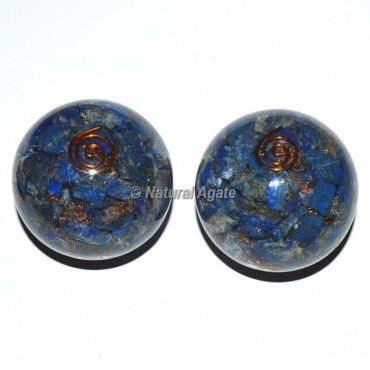 Lapis Lazuli Orgone Sphere