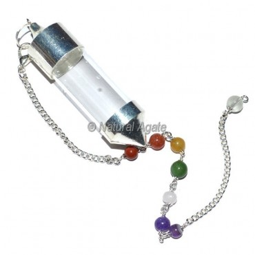 Chamber Pendulums With Chakra Chain Feel Any Stones