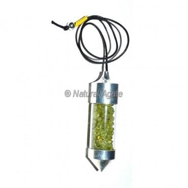 Peridot Chamber Pendulums