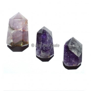 Amethyst 6 Faceted Healing Points