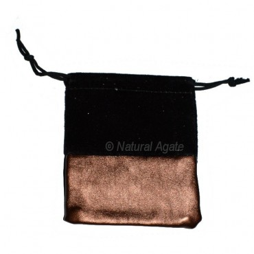 Black and Brown Packing Pouch