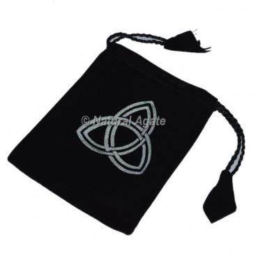 Celtic Symbol Black Pouch