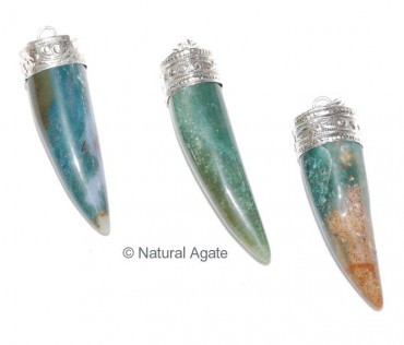 Agate Chilly Pendants