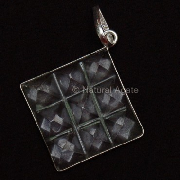 Crystal Pyramids Pendants
