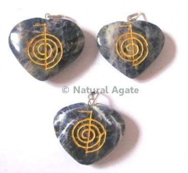 Sodalite Choko Reiki pendants